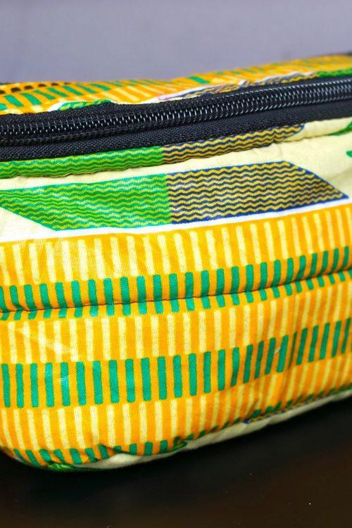 sac-banane-imany-adakad-motifs-africains-tissus-wax-jaune-or-a-rayures-verticales-jaune-citron-vert