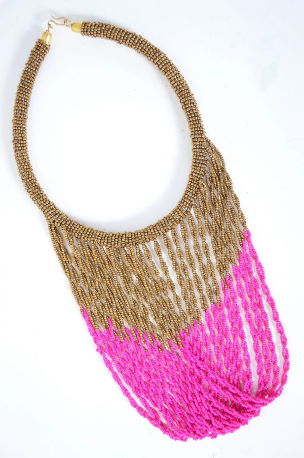 collier-perles-ayaba-adakad-traditionnel-artisanal-or-rose